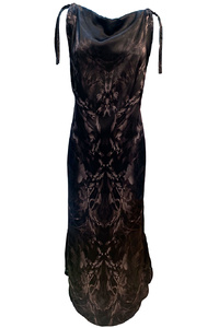 Dreamy Night Long Summer Silk Dress
